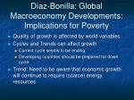 diaz bonilla global macroeconomy developments implications for poverty