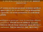 ii specifika narativn struktury rodov pojet asu