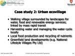 case study 2 urban ecovillage