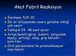 akut febril reaksiyon