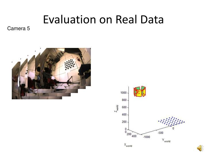 Evaluation on Real Data