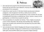 8 petrus