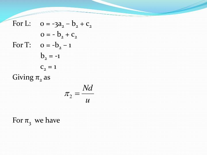 For L:     0 = -3a