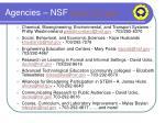 agencies nsf www nsf gov