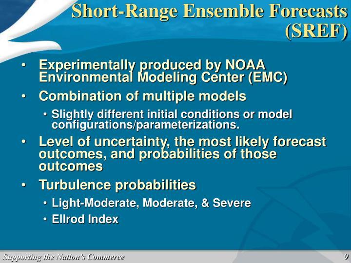 Short-Range Ensemble Forecasts (SREF)