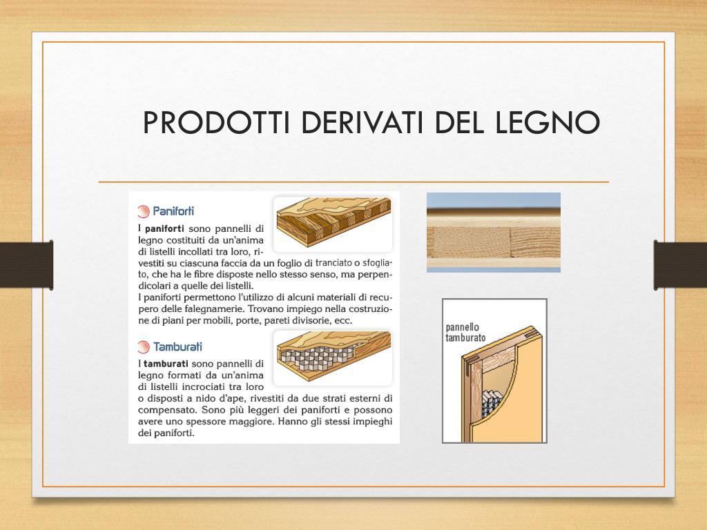 Le Fibre Del Legno ppt - il legno powerpoint presentation, free download - id