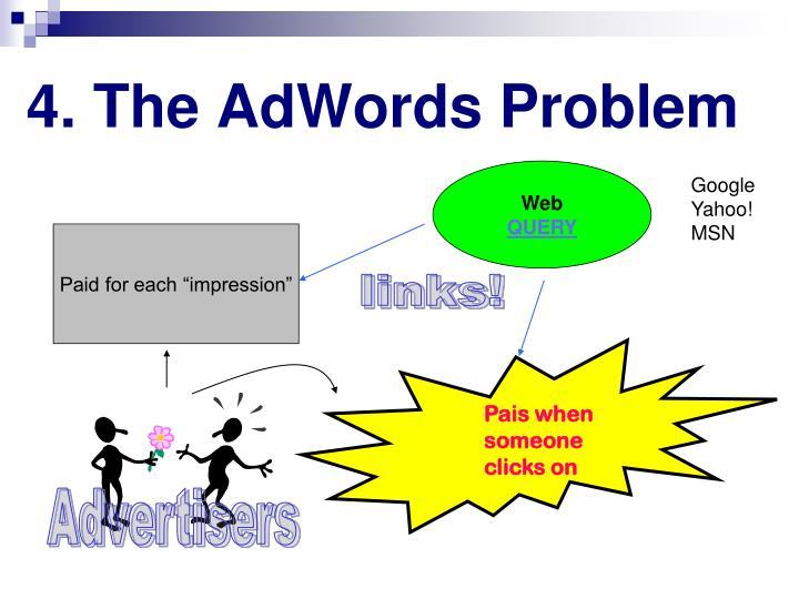 4. The AdWords Problem