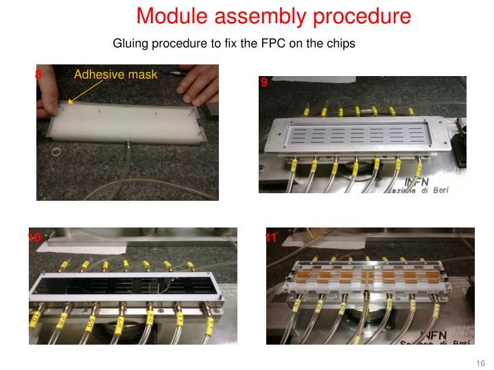 Module assembly procedure