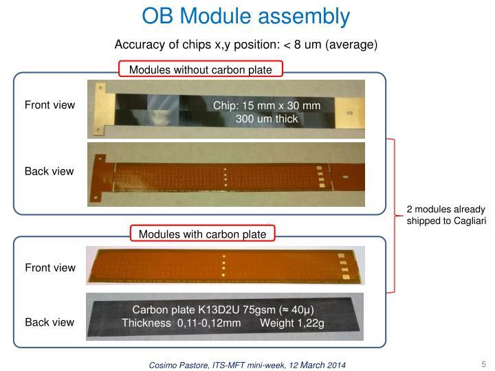 OB Module assembly