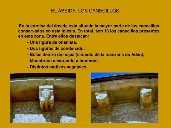 EL ÁBSIDE: LOS CANECILLOS.