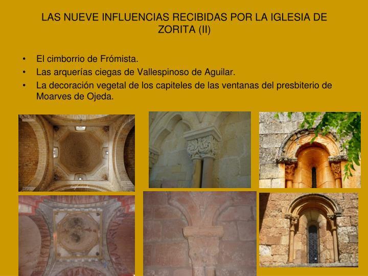 LAS NUEVE INFLUENCIAS RECIBIDAS POR LA IGLESIA DE ZORITA (II)