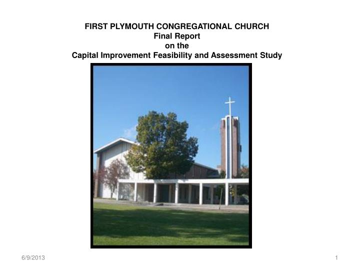 FIRST PLYMOUTH CONGREGATIONAL CHURCH