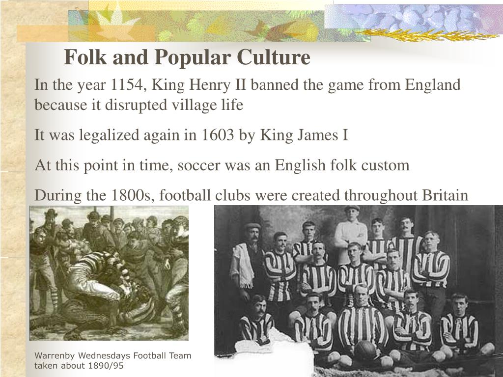 PPT - Folk and Popular Culture PowerPoint Presentation - ID