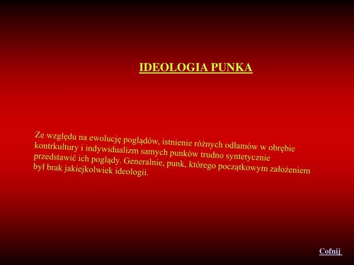 IDEOLOGIA PUNKA