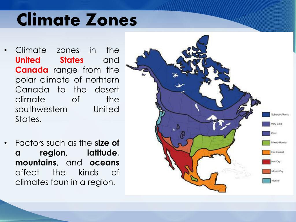 PPT - Chapter 4:The United States and Canada:Physical ...