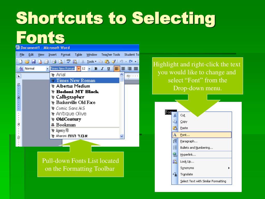 PPT - Word Basics PowerPoint Presentation - ID:4118168