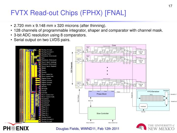 FVTX Read-out Chips (FPHX