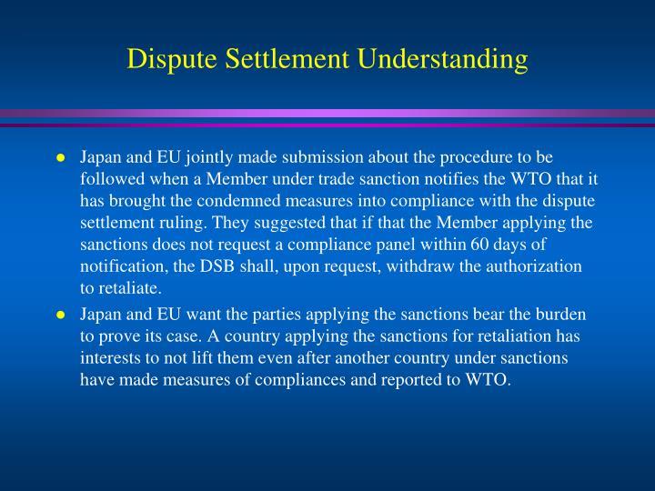 Dispute Settlement Understanding
