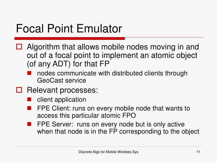 Focal Point Emulator