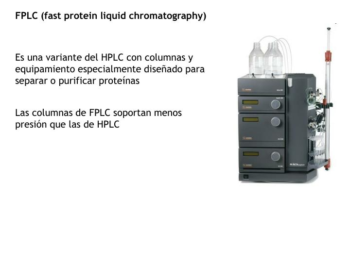 FPLC (fast protein liquid chromatography)