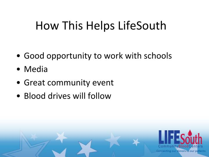 How This Helps LifeSouth