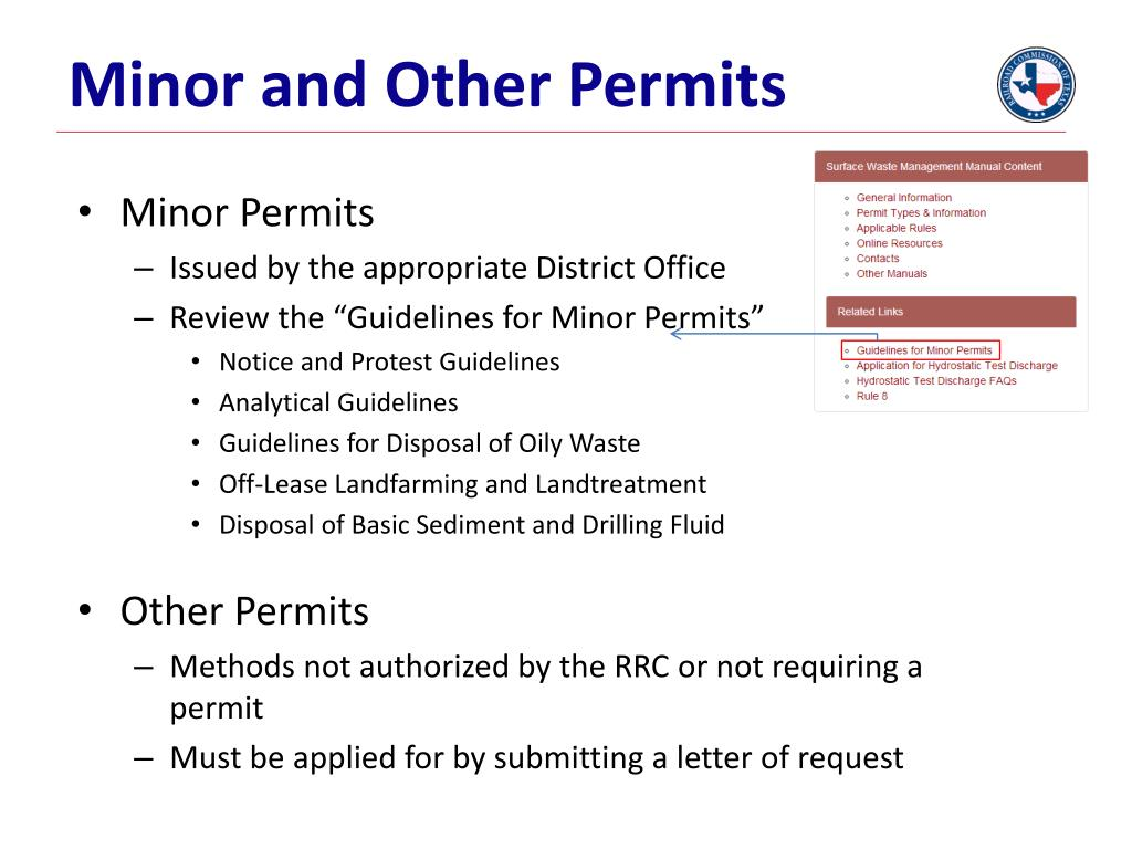 PPT - Guidance for Filing Environmental Permit Applications