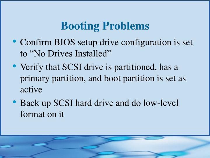 Booting Problems