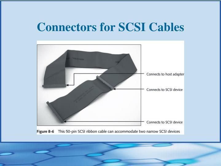 Connectors for SCSI Cables