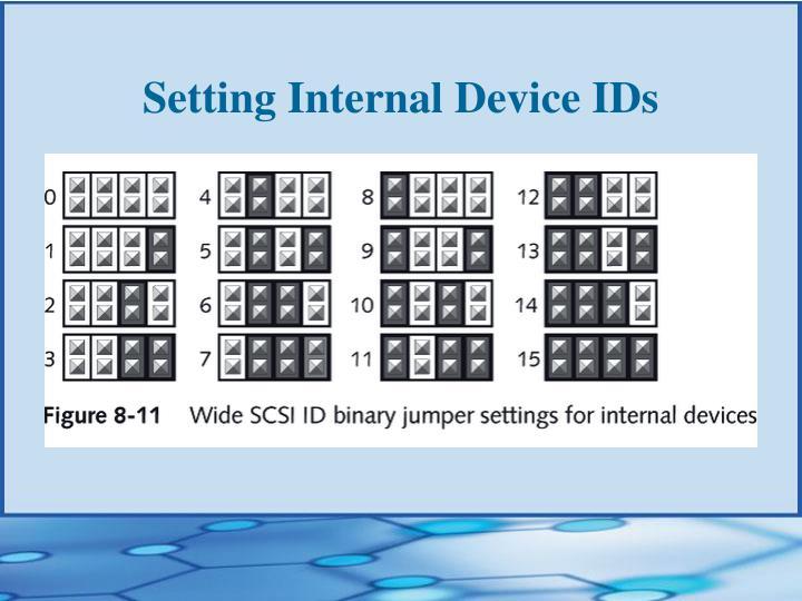 Setting Internal Device IDs