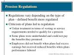 pension regulations