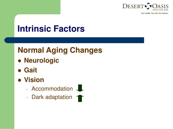 Normal Aging Changes