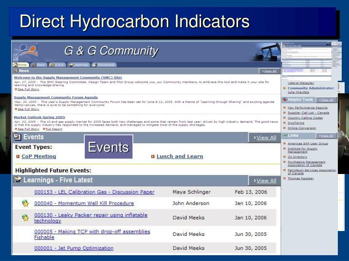 Direct Hydrocarbon Indicators