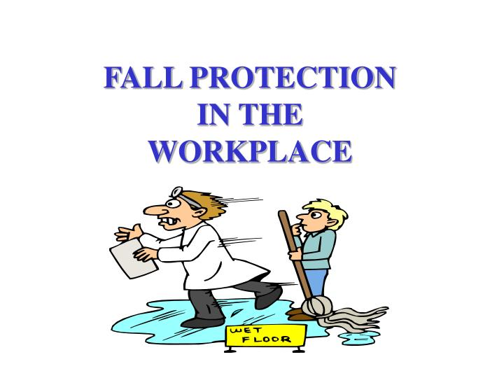 fall protection in the workplace n.