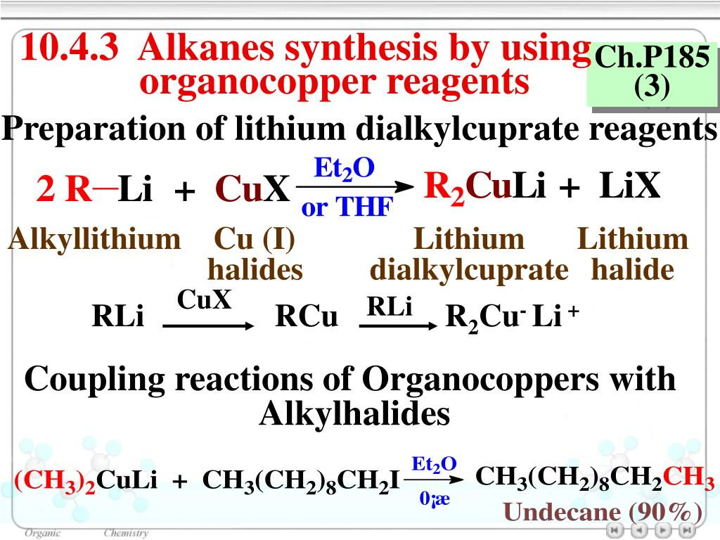 Ppt Chapter 10 Organometallic Compounds Powerpoint