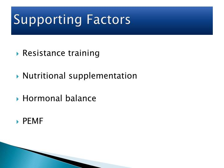 Supporting Factors