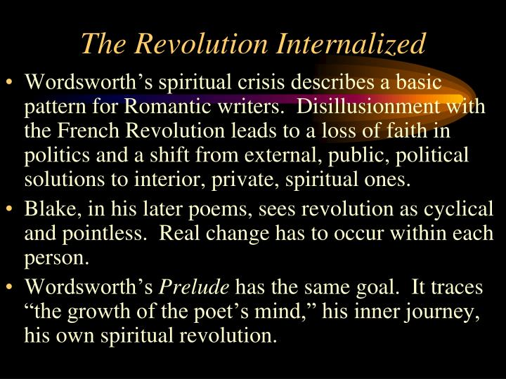 The Revolution Internalized