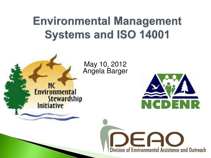 environmental management systems and iso 14001 n.