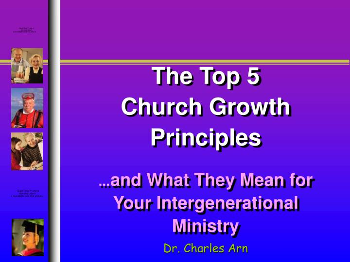 The top 5 church growth principles and what they mean for your intergenerational ministry
