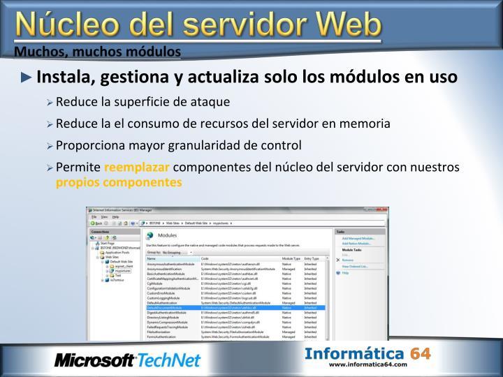 Núcleo del servidor Web