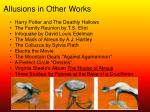 allusions in other works