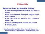 writing skills2