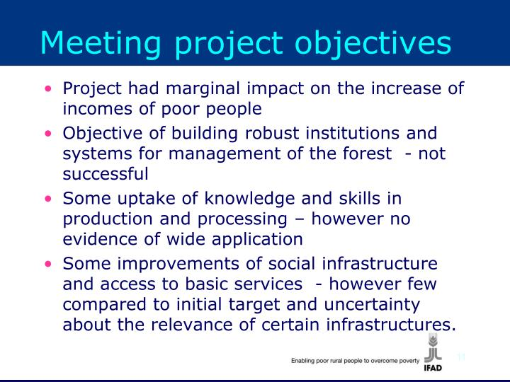 Ppt the independent office of evaluation internation a - Project management office objectives ...