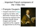important french composers of the 1730s 50s
