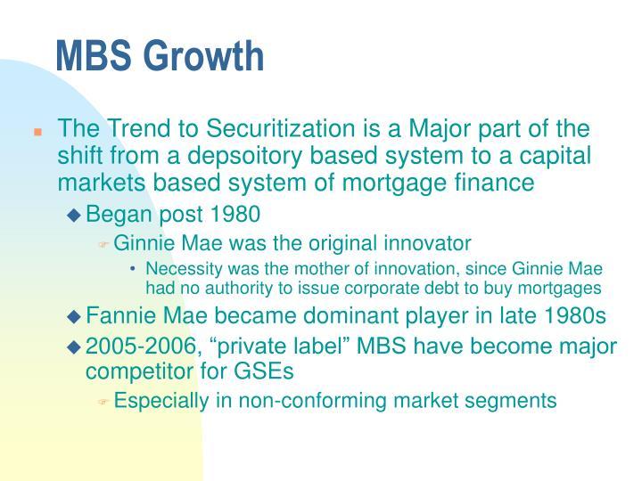 MBS Growth