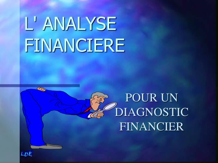 l analyse financiere n.
