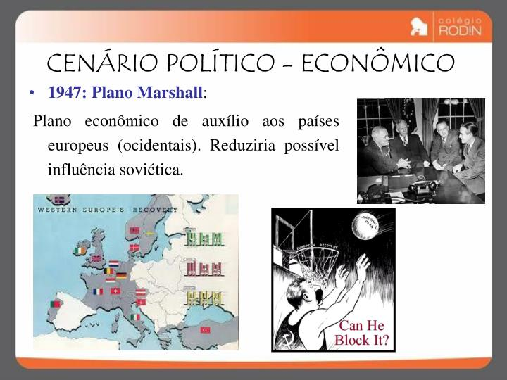 CENÁRIO POLÍTICO - ECONÔMICO