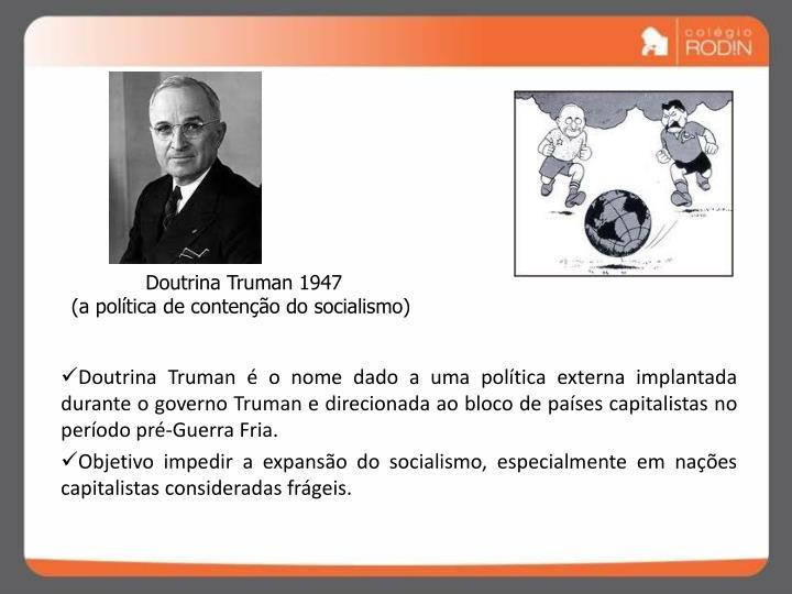 Doutrina Truman 1947