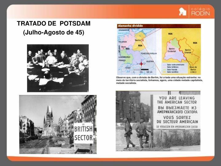 TRATADO DE  POTSDAM