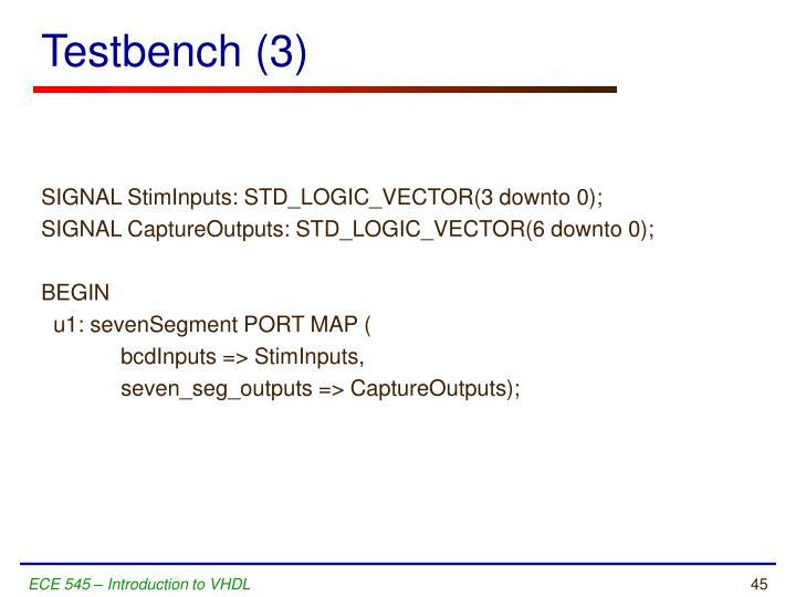 Testbench (3)