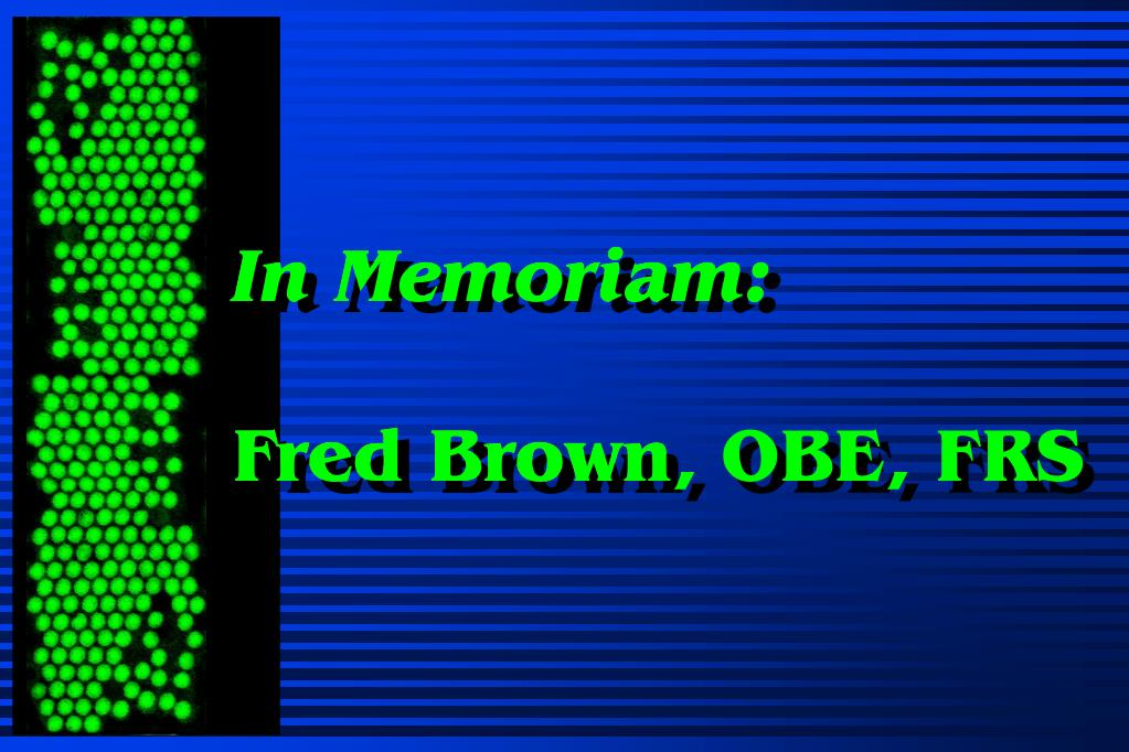ppt in memoriam fred brown powerpoint presentation id 4121937